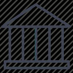 architecture, building, construction, estate, law, real icon