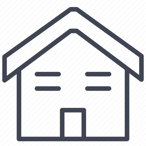 building, construction, home, house, property, roof, small icon