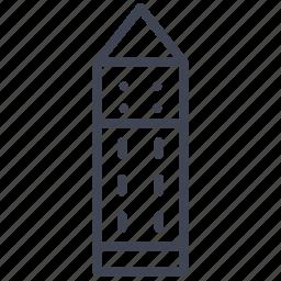 architecture, building, castle, construction, estate, tower icon