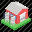depository, depot, repository, silo, storehouse, storeroom icon