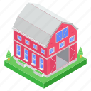 hut, farmhouse, agriculture building, farm, resort, cottage, country house icon