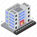 commercial center, mall, plaza, shopping center, shopping mall icon