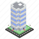 apartment, commercial building, condo, architecture, towers building, residential property icon