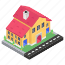 accomodation, cottage, home, homestead, house, hut, residence icon