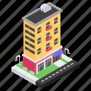 boutique, clothing center, clothing shop, mall, shopping center icon
