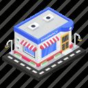 chemist shop, dispensary, drugstore, medicine store, pharmacy icon