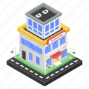 books market, bookshop, bookstore, marketplace, outlet icon