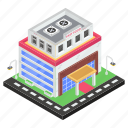 bistro, commercial building, eatery, eating house, fast food, restaurant icon