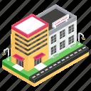 bakery, bakery building, bakery store, cake shop, marketplace, outlet