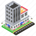 architecture, business center, commercial building, condo, office building