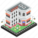 bistro, commercial building, eatery, eating house, fast food, pizza place, restaurant icon