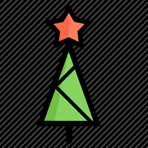 celebration, christmas, gift, holiday, kataykina, tree, xmas icon