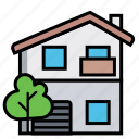 crib, dwelling, home, house, kataykina, premises, villa icon