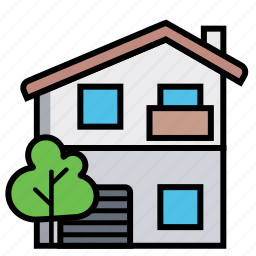 crib, dwelling, home, house, kataykina, premises, villa icon