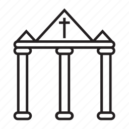 church, religion icon