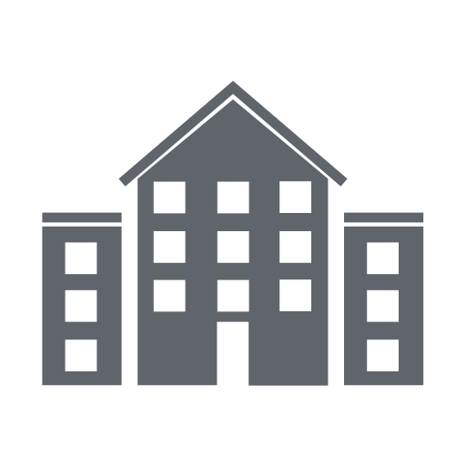 apartment, building, construction, home, hotel, office, travel icon
