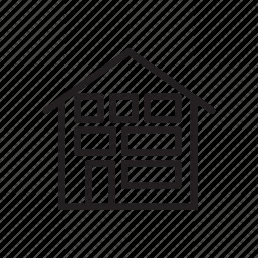 architecture, building, building icon, home icon