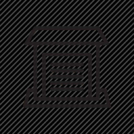 Architecture, car, garage, parking icon - Download on Iconfinder