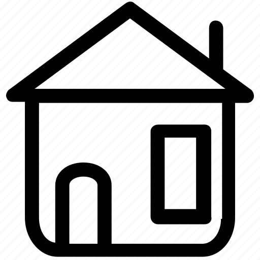 apartment, estatete, home, house, place, real icon