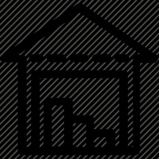 cargo, shipping, storage, store, warehouse icon
