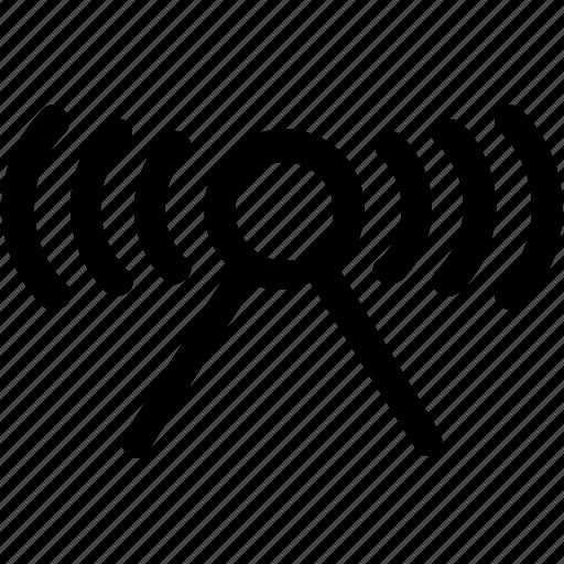 antenna, internet, network, signal, transmitter, wifi icon
