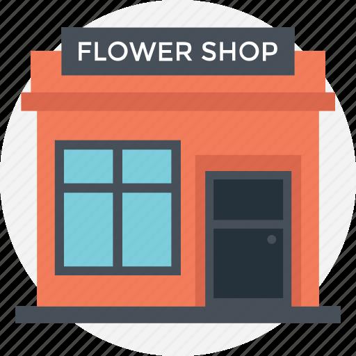 flower shop, flower store, nursery, plant shop, small florist icon