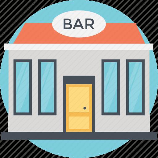 bar, hotel, modern building, pub, restaurant icon