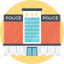 jail, modern jail, police headquarter, police station, prison icon