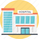 hospital building, hospital pharmacy, huge hospital, needies shelter, nursing care icon