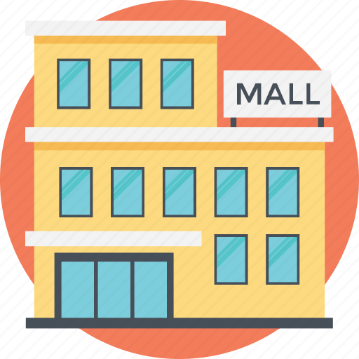 high-rise building, mall building, massive building, shoping store, shopping malls icon