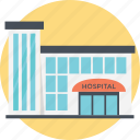 doctors office, high-rise hospital, hospital building, hospital pharmacy, nursing care icon