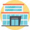 massive building, mall building, shoping store, shopping malls, grocery store icon