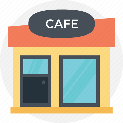 cafe, cafeteria, canteen, restaurant, snack bar icon