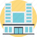 doctors office, hospital building, modern building, modern hospital, patients point icon