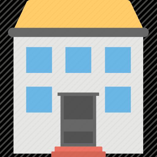 arcade, building, commercial building, hotel, market house icon
