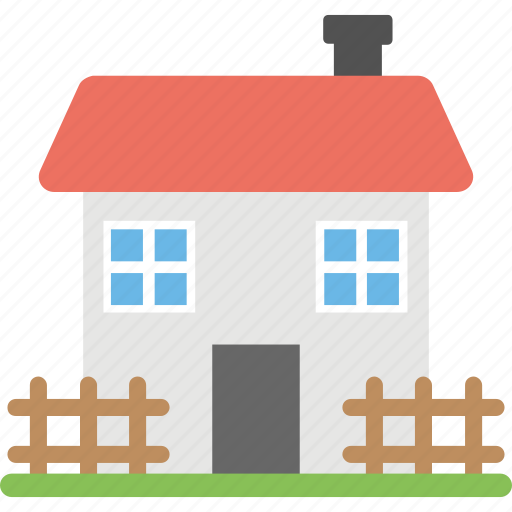 agricultural building, farmhouse, greenhouse, rural house, village home icon