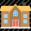 building, bungalow architecture, duplex house, dwelling, luxury house icon