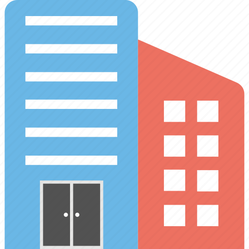 community hall, modern office, office, office block, office building icon