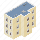 admin building, administration building, building exterior, office, office building icon