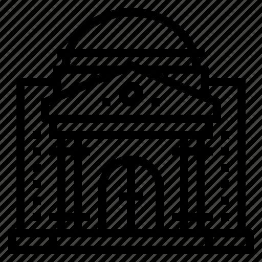 bank, building, city, hall icon