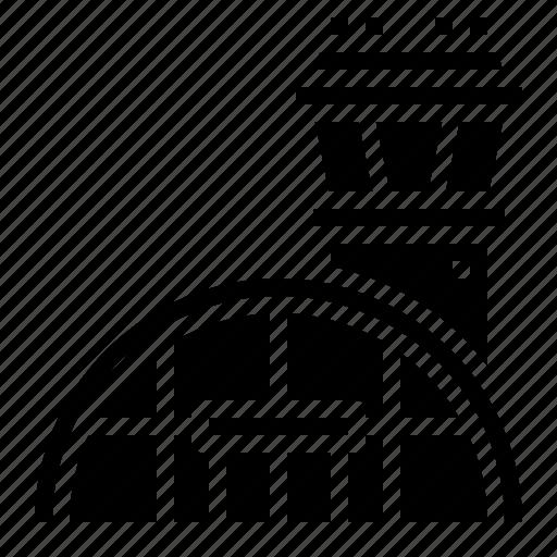 Airport, building, transport, transportation icon - Download on Iconfinder