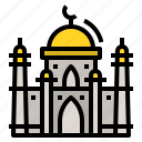 building, islamic, masjid, mosque, religion icon