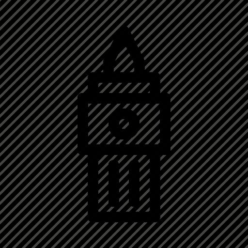 alarm, bridge, buildings, clock, london, tower icon