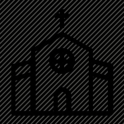 building, church, religious, worship icon