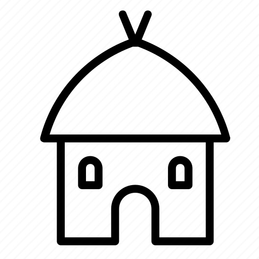 architecture, building, buildings, construction, house, mud icon