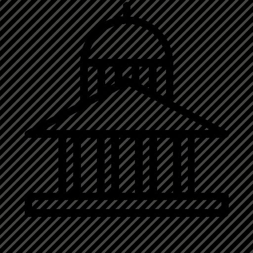 architecture, building, buildings, capitol, construction, dome icon