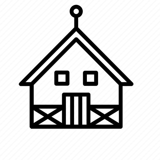 architecture, building, buildings, cabin, construction, house, wooden icon