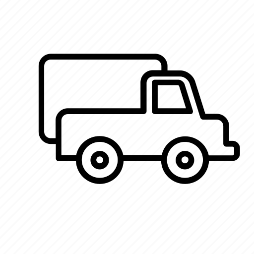 transport, truck icon
