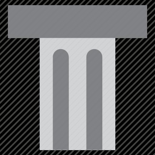 architecture, building, column, construction, monument, pillar icon