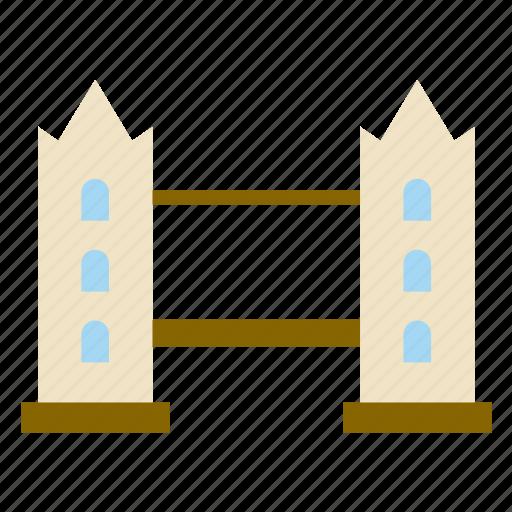 architecture, bridge, building, construction, london, london brige, monument icon